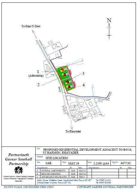 Plot Commercial for sale in St. Harmon, Rhayader