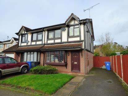 3 Bedrooms Semi Detached House for sale in Stocker Avenue, Alvaston, Derby, Derbyshire