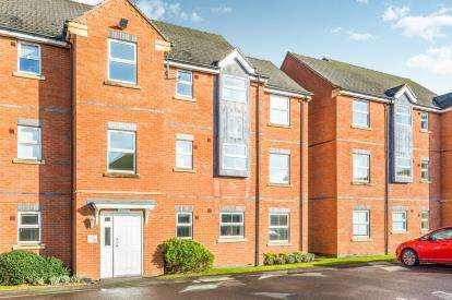 2 Bedrooms Flat for sale in Lime Tree Grove, Loughborough, Leicestershire