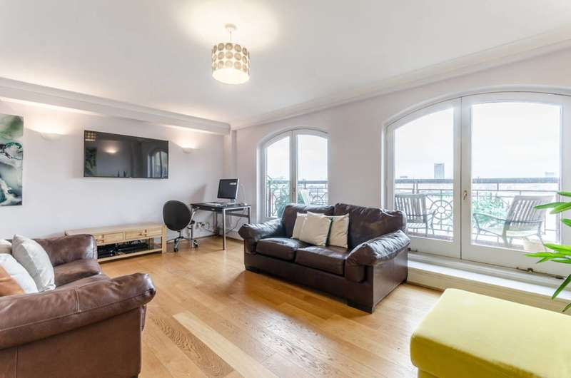 2 Bedrooms Flat for sale in Trafalgar Court, Wapping, E1W