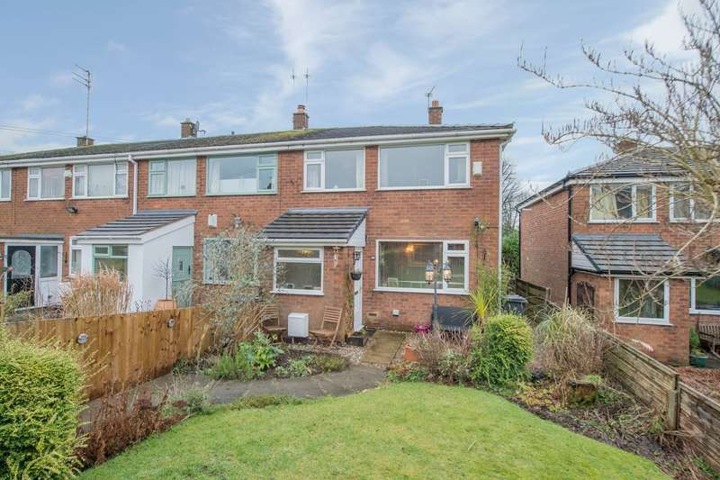 3 Bedrooms Semi Detached House for sale in Andrew Close, Greenmount, Bury, BL8