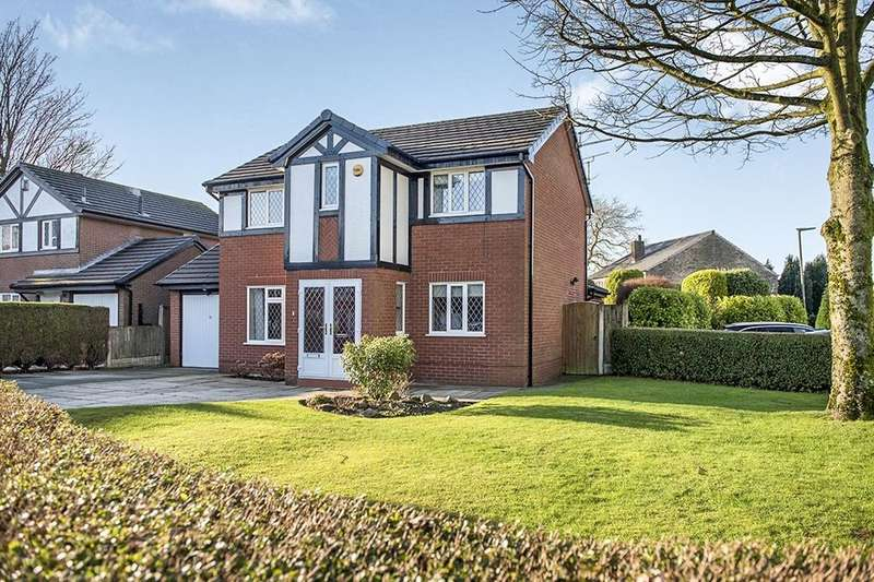 4 Bedrooms Detached House for sale in Sallowfields, Wigan, WN5