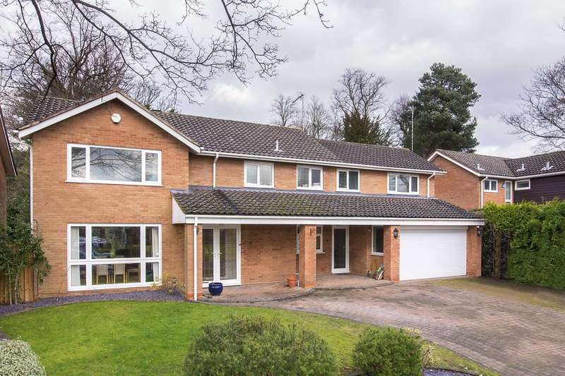5 Bedrooms Detached House for sale in Antringham Gardens, Edgbaston, B15 2QL