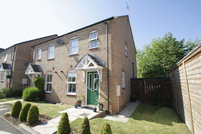 2 Bedrooms Semi Detached House for sale in Patey Court, Linthorpe TS5 5DJ