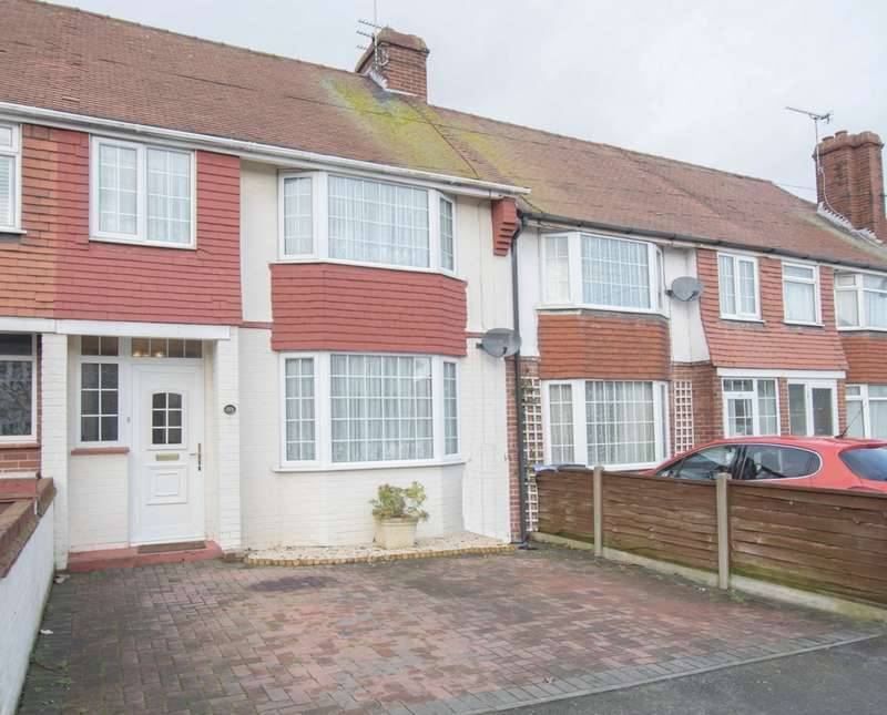 3 Bedrooms Terraced House for sale in Downs Road, Walmer, CT14