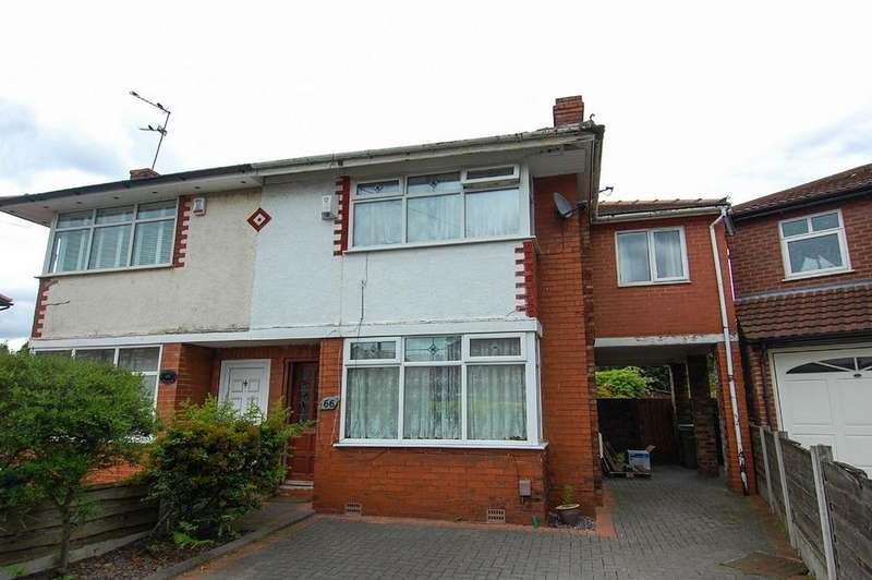 3 Bedrooms Semi Detached House for sale in Audley Avenue, Stretford, Manchester, M32