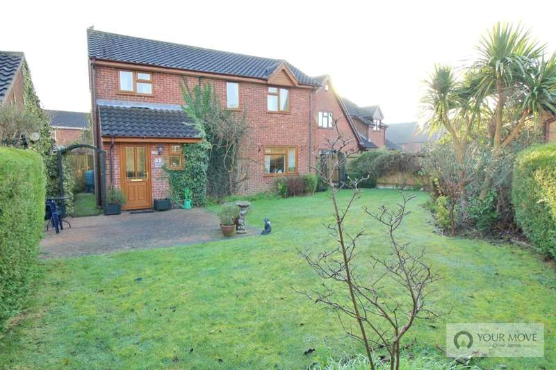 4 Bedrooms Detached House for sale in Dover Court, Caister-On-Sea, Great Yarmouth, NR30