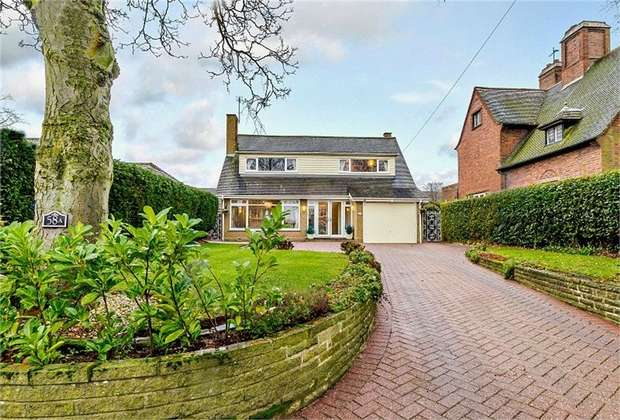 4 Bedrooms Detached Bungalow for sale in Station Road, Great Wyrley, Walsall, Staffordshire