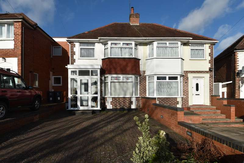 3 Bedrooms Semi Detached House for sale in Sylvia Avenue, West Heath, Birmingham, B31
