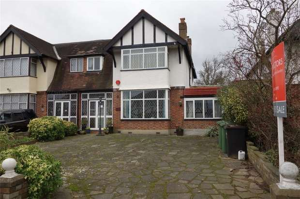 4 Bedrooms Semi Detached House for sale in Kent House Road, Beckenham, Kent