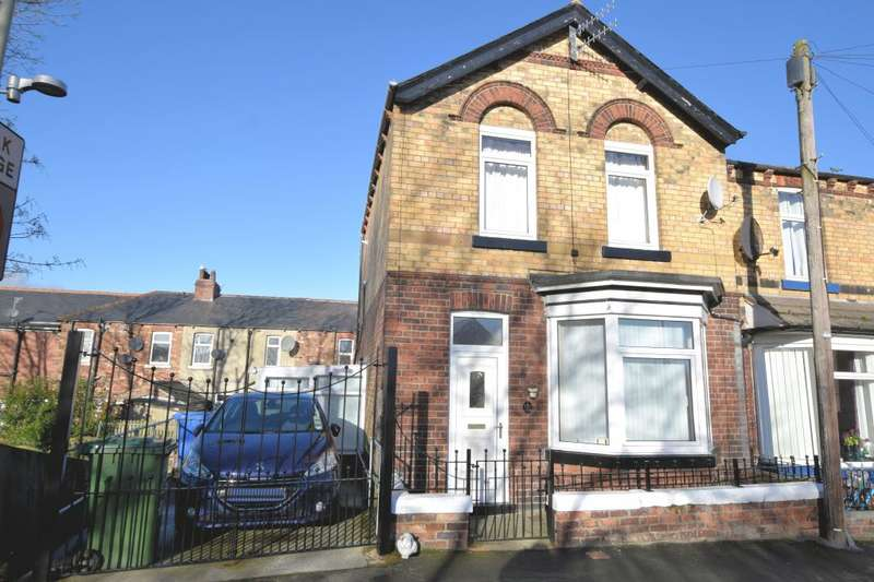 2 Bedrooms End Of Terrace House for sale in Hibernia Street, Scarborough, North Yorkshire YO12 7DH