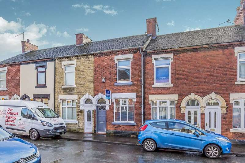 2 Bedrooms Terraced House for sale in Ladysmith Road, Stoke-On-Trent, ST1