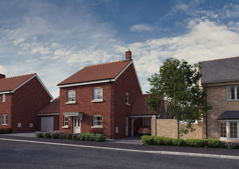 3 Bedrooms Detached House for sale in Plot 2, 'The Chancellors', Bedford Road, Moggerhanger, MK44