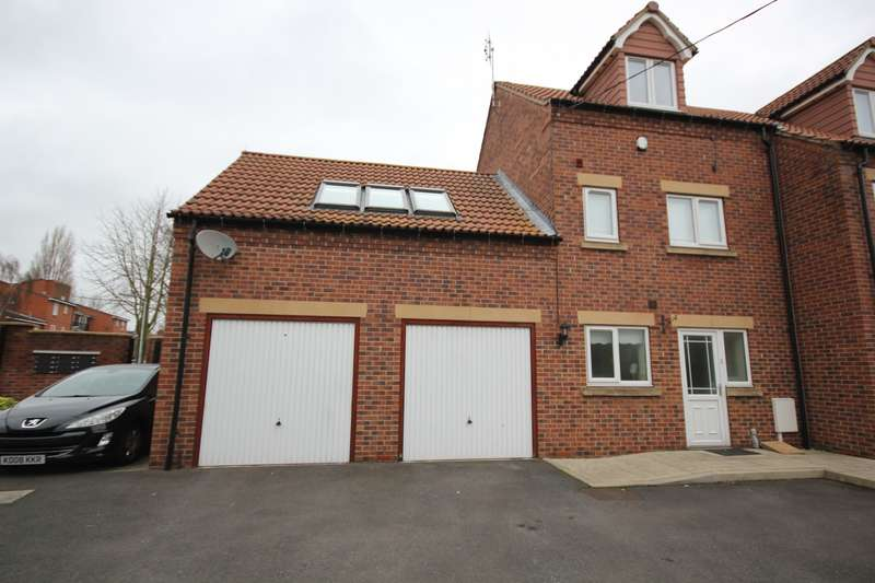 2 Bedrooms End Of Terrace House for sale in Canalside Mews, Worksop, S80
