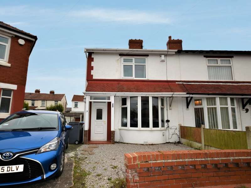 2 Bedrooms End Of Terrace House for sale in Mirfield Grove, Blackpool