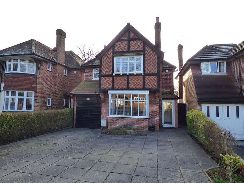 4 Bedrooms Detached House for sale in Shakespeare Drive, Shirley, Solihull, West Midlands, B90 2AL