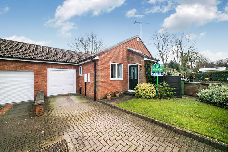 3 Bedrooms Semi Detached Bungalow for sale in Orchard Court, Ryton, NE40