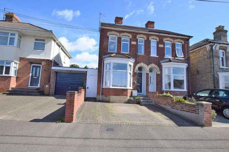 3 Bedrooms Semi Detached House for sale in Queens Road, Sudbury, CO10 1PG