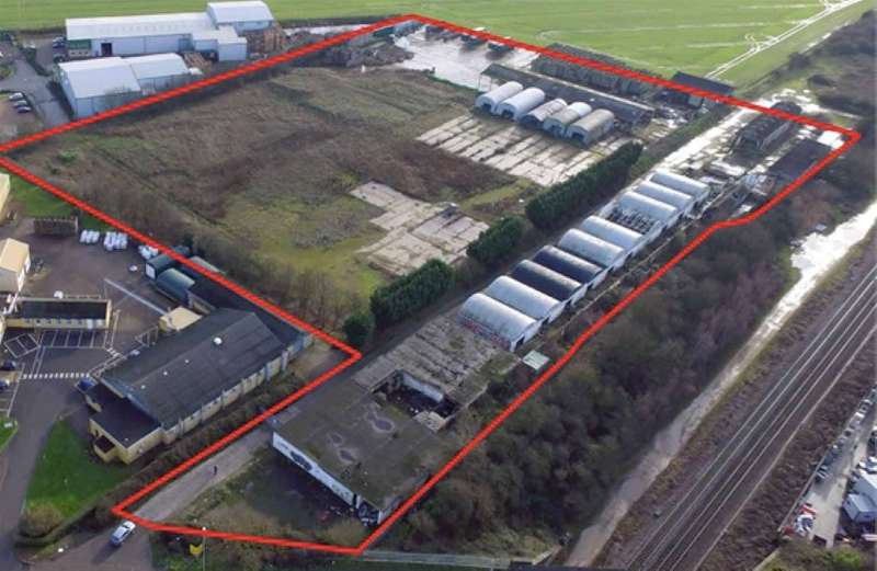 Land Commercial for sale in Site at Station Road, Broadway, Yaxley, Peterborough, Cambridgeshire, PE7 3ED