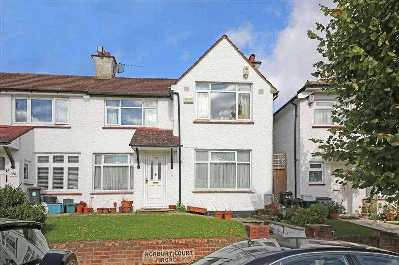 3 Bedrooms House for sale in Norbury Court Road, Norbury, SW16