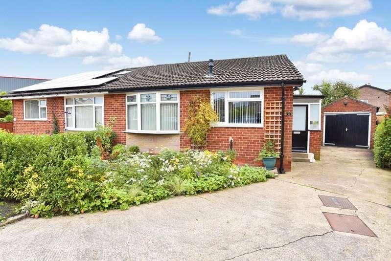 2 Bedrooms Semi Detached Bungalow for sale in Hookstone Way, Harrogate