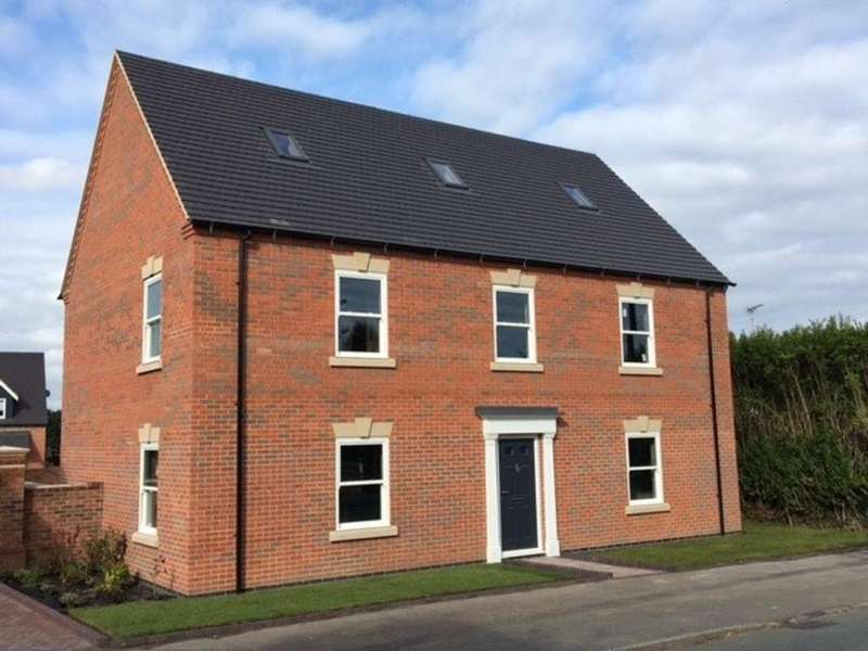 5 Bedrooms Detached House for sale in Beamhill Road, Anslow, Burton-on-Trent