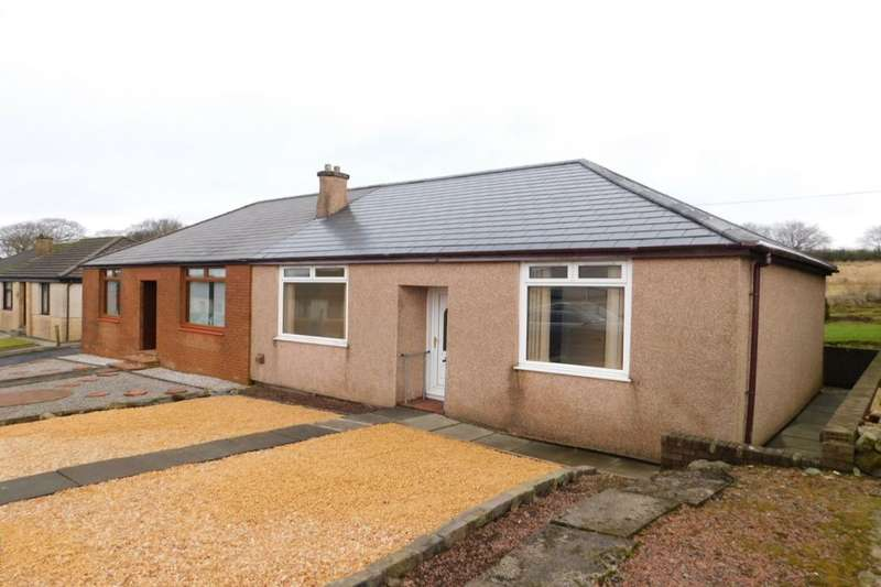 2 Bedrooms Semi Detached Bungalow for sale in Hawthorn Drive, Shotts, ML7