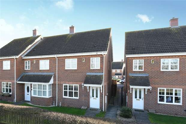 3 Bedrooms End Of Terrace House for sale in Trow Close, Cotton End, Bedford