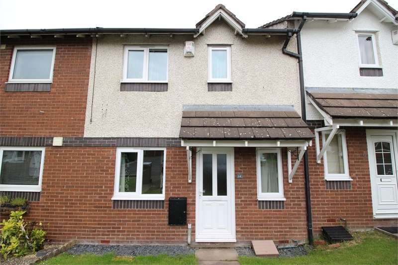 2 Bedrooms Terraced House for sale in CA1 2XH Scotby Gardens, Durranhill, Carlisle, Cumbria
