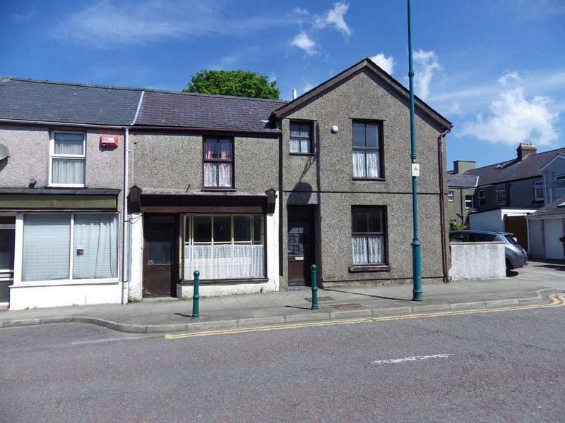 3 Bedrooms End Of Terrace House for sale in Snowdon Street, Penygroes, North Wales