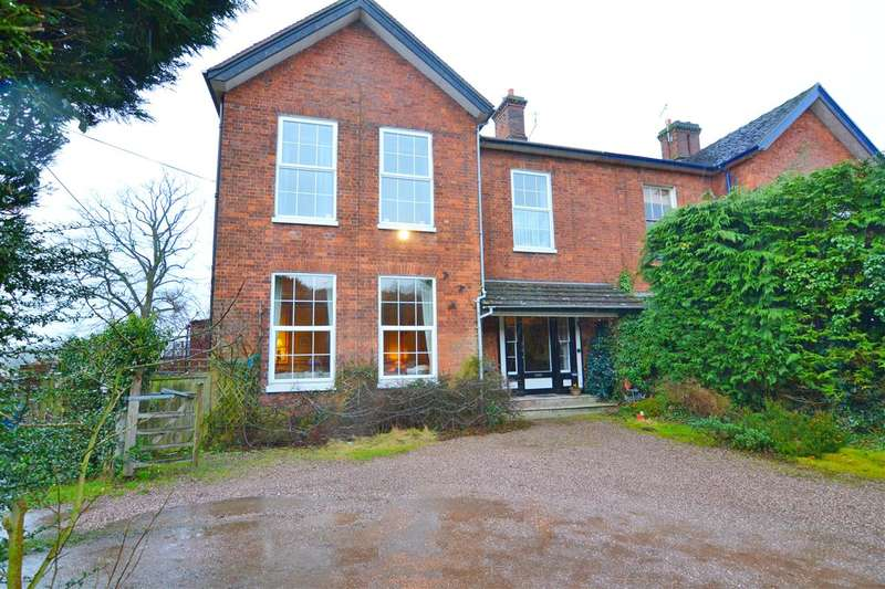 4 Bedrooms Semi Detached House for sale in Rickerscote Manor House, Stafford