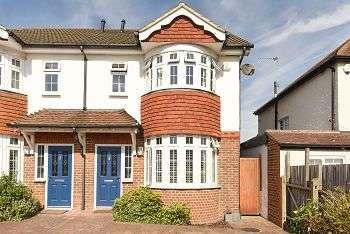 4 Bedrooms Semi Detached House for sale in Broad Walk, Blackheath, London, SE3 8NF