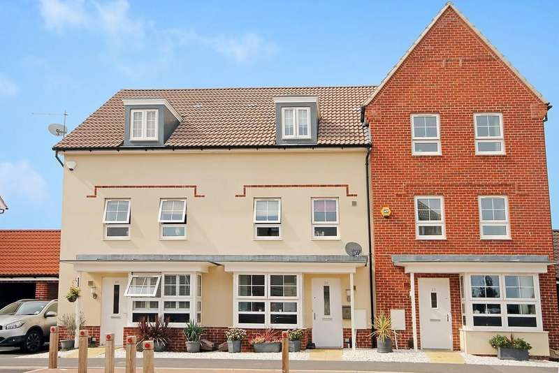 4 Bedrooms Terraced House for sale in Overton Road, Worthing BN13 1FF