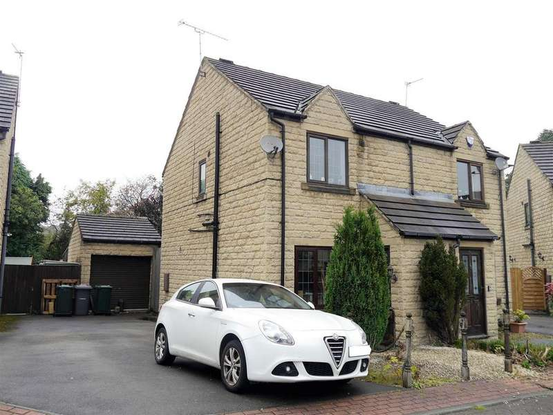 2 Bedrooms Semi Detached House for sale in Flaxen Court, Wibsey, Bradford, BD6 1AW