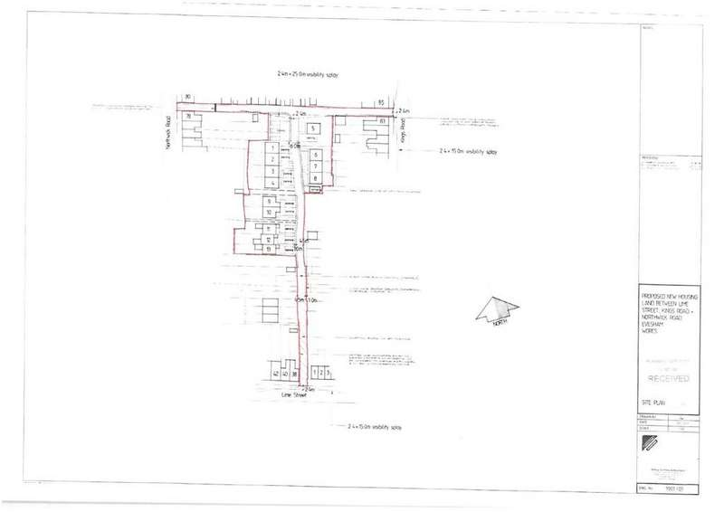 Land Commercial for sale in Kings Road, Evesham