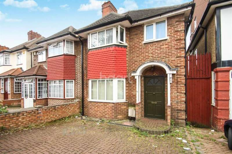 4 Bedrooms Semi Detached House for sale in Tudor Court South, Wembley
