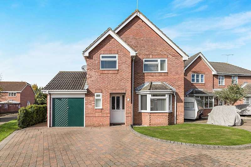 4 Bedrooms Detached House for sale in The Tithe, Denmead, Waterlooville, PO7