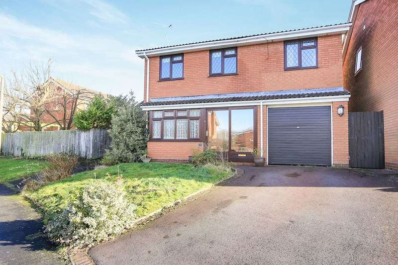 4 Bedrooms Detached House for sale in Turnham Green, Wolverhampton, WV6