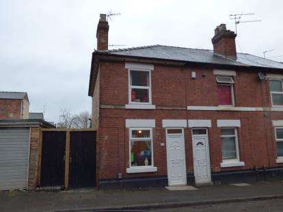 2 Bedrooms End Of Terrace House for sale in Lynton Street, Derby, Derbyshire