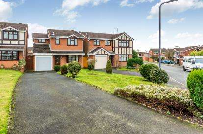 3 Bedrooms Detached House for sale in Torridon Road, Coppice Farm, Willenhall, West Midlands