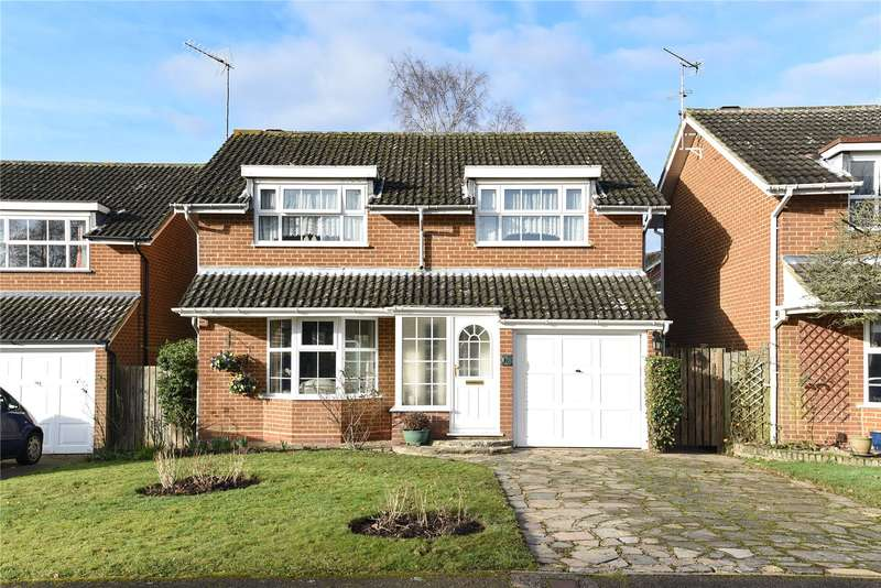 4 Bedrooms Detached House for sale in Windmill Drive, Croxley Green, Rickmansworth, Hertfordshire, WD3