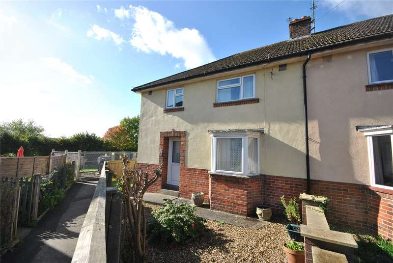 3 Bedrooms Semi Detached House for sale in St. Pauls Close, Sherborne, Dorset, DT9