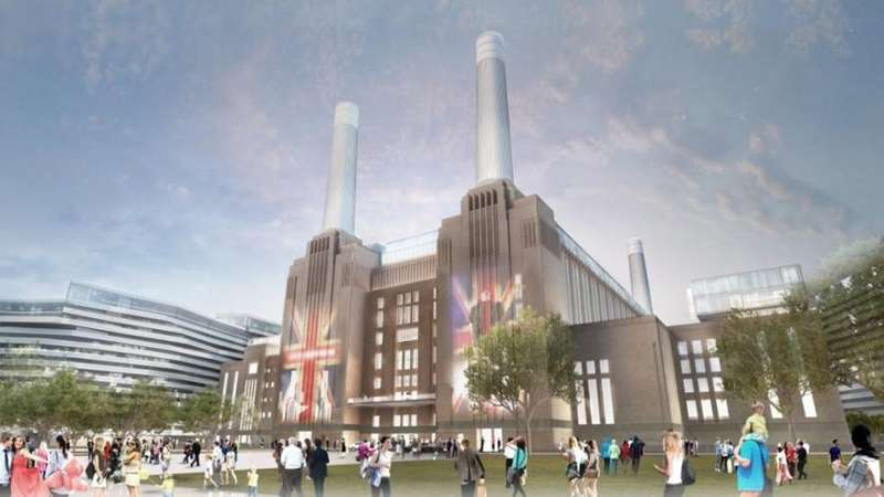 3 Bedrooms Penthouse Flat for sale in Boiler House Square, Battersea Power Station, SW8, London