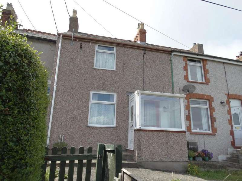 2 Bedrooms Terraced House for sale in 10 Mount Pleasant Terrace, Penrhyn side, LL30 3BT