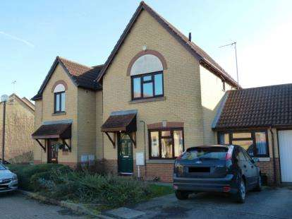 3 Bedrooms Semi Detached House for sale in Fordcombe Lea, Kents Hill, Milton Keynes
