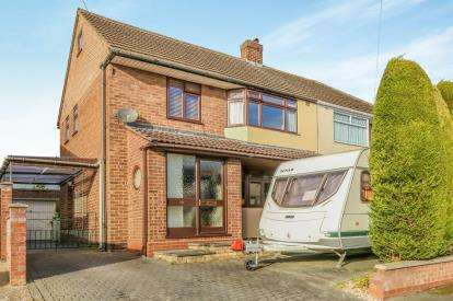 3 Bedrooms Semi Detached House for sale in Fourth Avenue, Wellingbrough
