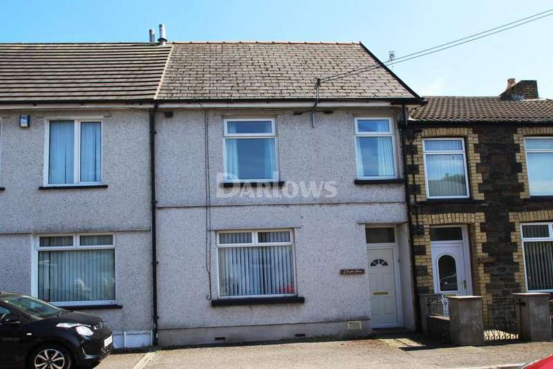 2 Bedrooms Terraced House for sale in Poplar Place Troedyrhiw