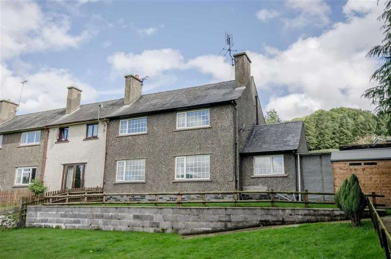 3 Bedrooms End Of Terrace House for sale in Rhyd Y Glafes, Cynwyd, Corwen