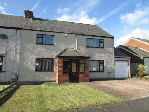 4 Bedrooms Terraced House for sale in OVERMAN STREET, HIGH SHINCLIFFE, DURHAM CITY : VILLAGES EAST OF