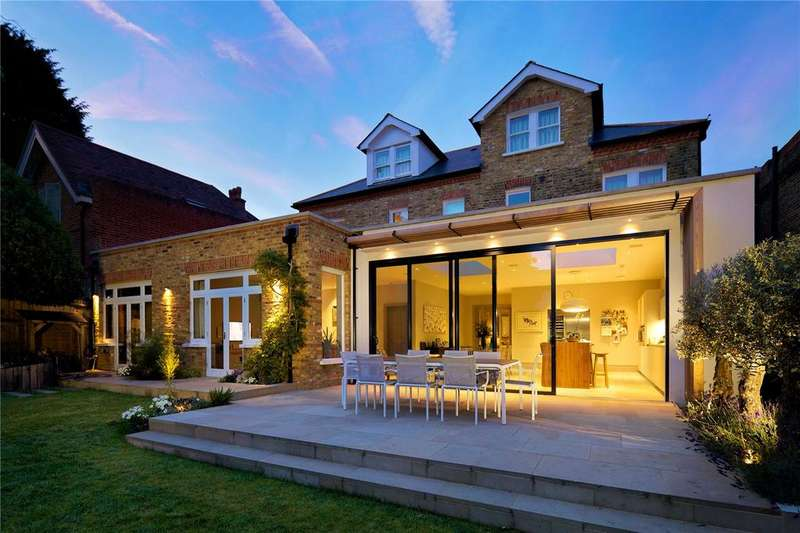 6 Bedrooms Link Detached House for sale in Crescent Road, Wimbledon, London, SW20
